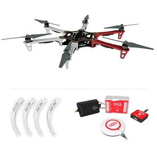 DJI F550 ARF KIT + Landing Gear + Naza-M Lite + GPS