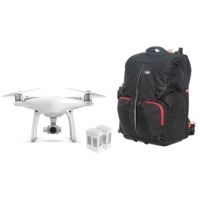 Phantom 4 with Two Extra Batteries and Phantom Backpack