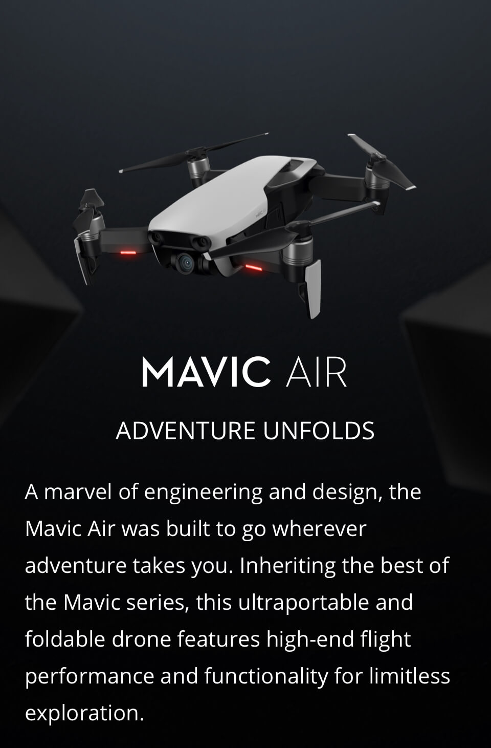 Buy Mavic Air Fly More Combo United States