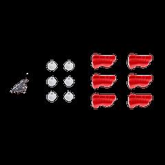 DJI Matrice 600 Series Red Rotatable Clamp Kit