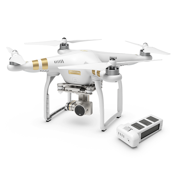 Phantom 3 Professional with Extra Battery