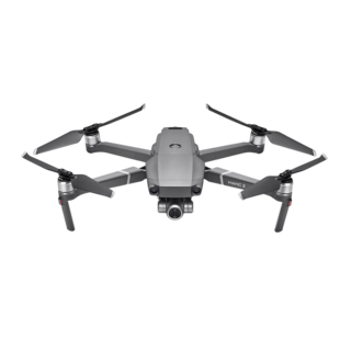 DJI Mavic 2 Zoom Aircraft (Excludes Remote Controller and Battery Charger)